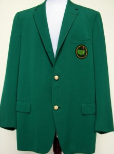 The Green Jacket is the most coveted prize in Golf.