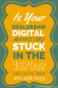 is your car dealership marketing stuck in the 70s